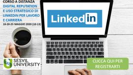 Digital Reputation e Uso Strategico di Linkedin per Lavoro e Carriera - Corso a Distanza Sesvil University - Registrati