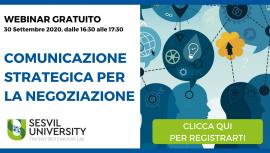Webinar Comunicazione Strategica - Sesvil University