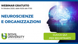 Webinar Neuroscienze e Organizzazioni - Sesvil University