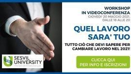 Quel Lavoro Sarà Tuo - Workshop Sesvil - Sesvil University